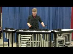 xylofoon van pvc pijpen  ▶ My PVC Instrument, High School Performance - YouTube