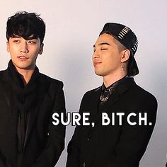 This is exactly what all the members are thinking when Seungri is talking