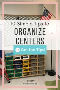 Looking to organize your elementary centers? This post shares 10 ways you can organize your stations more efficiently. Guided Reading Organization, Teacher Organization, Teacher Hacks, Organization Hacks, Literacy Stations, Literacy Centers, Teacher Must Haves, Organized Teacher, First Year Teachers