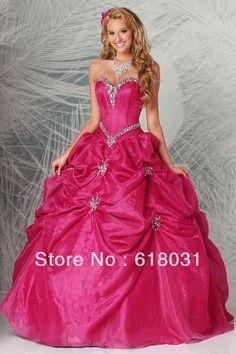 vestidos de 15 años rosa 2014 vestido de bola 2014 color