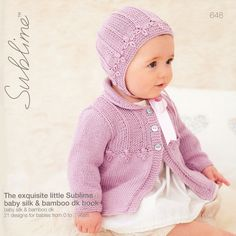 The Exquisite Little Sublime Baby Silk & Bamboo DK Book (648)