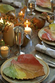 4 fall tablescapes