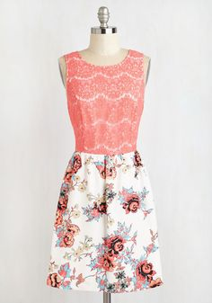 Coral of the Story Dress