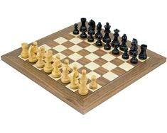 Medium 3 Player Chess Set 40cm Hexagonal Board with Edge Numbers White and Red Pieces Brown