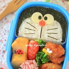 Bento Recipes, Baby Food Recipes, Bento Kids, Food Art For Kids, Cafe Food, Aesthetic Food, Bento Box, Creative Food, Food Inspiration