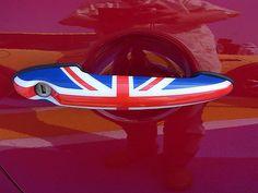 Union Jack - Mini Cooper door handle