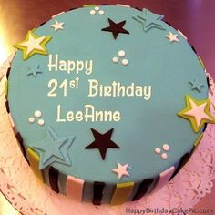elegant-21st-birthday-cake-for-LeeAnne.jpg (500×500)