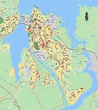 Vänersborgs innerstad är Sveriges 84:de största ö. Halkade ner från 83.de platsen efter att SCB kommit på att Södertörn-Nacka är en ö och dessutom i storlek direkt efter Gotland och Öland. Tidigare trea var Orust.