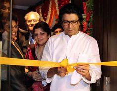 Honourable Shri.Raj Thackeray inaugurates Veena World's first branch office at Kandivali