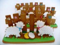 Veľkonočné medovníkové ovečky