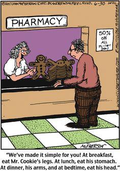 A gingerbread man helps the medicine go down. Pharmacy Humor, Medical Humor, Nurse Humor, Nursing Memes, Funny Nursing, Nursing Quotes, Work Memes, Work Humor, Funny Nurse Quotes