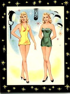 Janet Leigh Paper Dolls