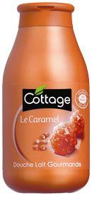 Cottage, Douche lait Caramel, Douche lait Gourmande au Caramel, Produit pour le corps, Produit pour le bain