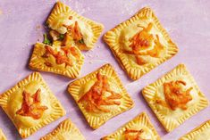 as21-hand-pies-ham-cheddar-broccoli-hand-pies-photo-by-brie-passano-horiz-crop Homemade Hot Pockets, Paneer Cheese, Apple Hand Pies, Pie Tops, Mini Pies, Apple Recipes, Chutney, Edible Creations