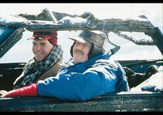"""Steve Martin & John Candy in """"Planes, Trains, and Automobiles"""""""