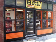 Princeton University Hoagie Haven --- the VERY best Hoagies!!!!  Every time we are in Princeton, we go here.