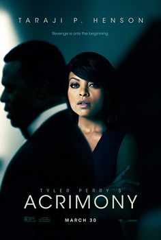 Tyler Perry's Acrimony is a 2018 American psychological thriller film produced, written, and directed by Tyler Perry. The film stars Taraji P. Free Hd Movies Online, Movies To Watch Free, Good Movies, Movies Free, Tyler Perry Movies, Plus Tv, Perfect Movie, Thriller Film, Ready Player One