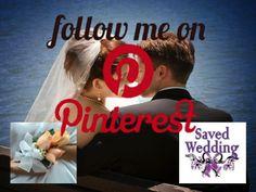 Follow Saved Wedding on Pinterest! http://savedwedding.com http://pinterest.com/savedwedding