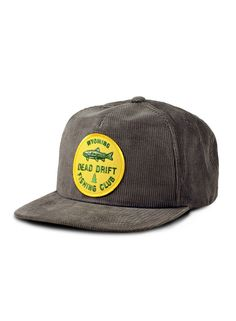 The number one resource for Fishing gear and information Fly Fishing Hats, Fishing Rods, Mens Caps, Outdoor Outfit, Out Of Style, Corduroy, Going Out, Baseball Hats, Club