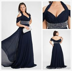 Cheap 2014 Prom Dress - Discount 2014 Sexy Halter Cap Sleeves Pleats Prom Dresses Beaded Backless a Line Sweetheart Chiffon Plus Size Evening Dress Floor Length Blue Chiffon Online with $99.48/Piece | DHgate