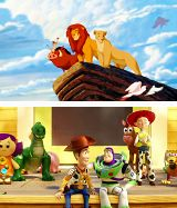 Lion King! And Toy Story of course.