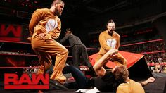 The Miz came prepared as Bo Dallas and Curtis Axel prove to be some BAD NEWS BEARS for Dean Ambrose on WWE Raw!