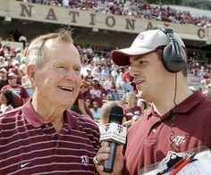 George Bush | TEXAS AGGIE FOOTBALL
