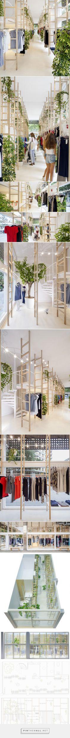 román izquierdo designs minimal, light-filled mit mat mama store in barcelona - created via https://pinthemall.net