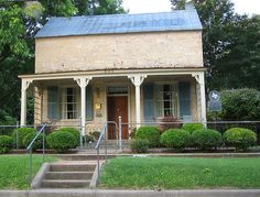 Texas Hill Country Tin-roofed Limestone House by MyEyeSees, via Flickr
