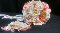 Custom made by Karen's Bridal & Gifts! Look us up on Facebook!