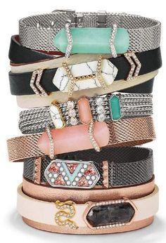 Keep Fall 15 Design Guide Jewelry bracelets Stone and Bracelets