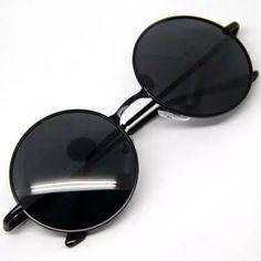 óculos sol redondo estilo beatles john lennon ozzy retro Oculos Retro  Masculino, Oculos De Sol 07f959b9c3