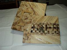 album rustico artesanal com caixa- papel reciclado manual e fibra de bananeira acabamento com filtro de café usado