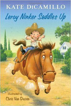 leroy ninker saddles up 2014 Nerdy Book Awards - early readers and chapter books