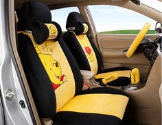 cartoon Car Seat Covers Universal Fit HONDA SPIRIOR ACCORD ODYSSEY ...