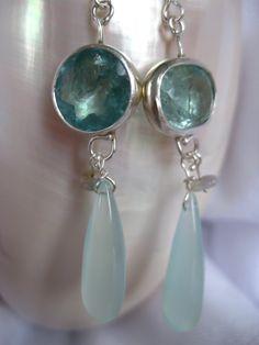 Leda Jewel Company ~ Aquamarine Earrings