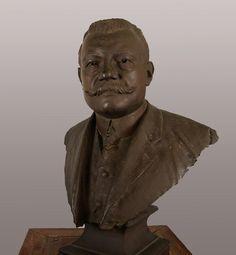 Mars 2016 :  Buste de Joseph Déchelette par Benoît Champion vers 1920 Bronze © MAN / V. Gô