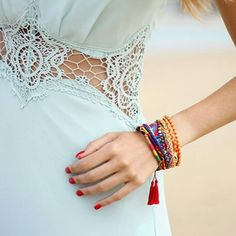 Details <3. Gorgeous #fashionblogger @sylvia_daretodiy beautifully showed the delicate crochet lace on our #Jarlo #SS15 #Nolita maxi dress in soft mint <3 What a stunning photo!  Make sure to check Sylvia's YouTube channel for plenty of fashion, lifestyle and beauty inspirations!