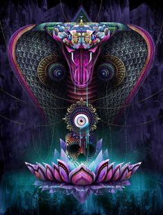 psychedelic cobra