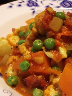 kabocha squash curry - vegan recipe by Sara Strother
