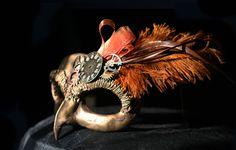 Steampunk masquerade mask