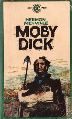 AND another great Moby Dick book cover #CallMeMelville