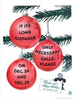 vintage christmas advertisement 41