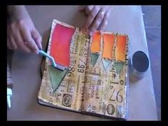 Easy Mixed Media Techniques for the Art Journal with Seth Apter - YouTube