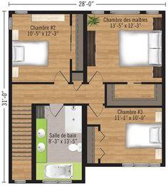 1000 images about plan de maison on pinterest zen garage and construction for Maison profab prix