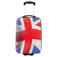 #London2012 Union jack suitcase Valise drapeau anglais - Pureshopping