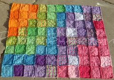 Rag Quilt http://www.bing.com/images/search?q=Rag+Quilt+Patterns+For+Beginners=IQFRDR