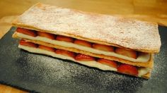 Gino D'Acampo Lets Do Lunch with Gino and Mel Recipes: Gino D'Acampo millefeuille from Let's Do Lunch