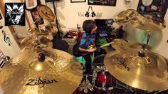 "Alex Shumaker Drum Cover Revolution Saints ""Turn Back Time"""