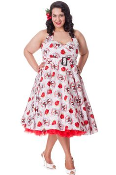 Gina 50s Dress  by Hell Bunny